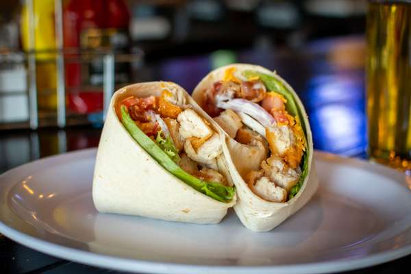 Crispy Chicken Cobb Wrap