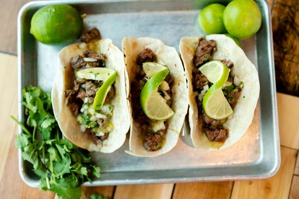 Word On The Street tacos