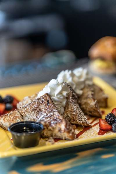 Coconut Rum French Toast