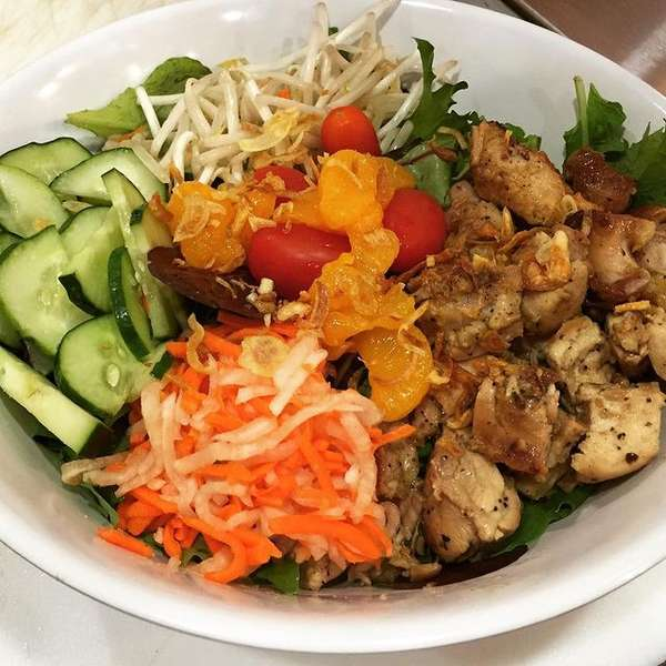 meat and veggie bowl