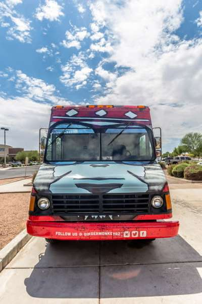 Food Truck Front View