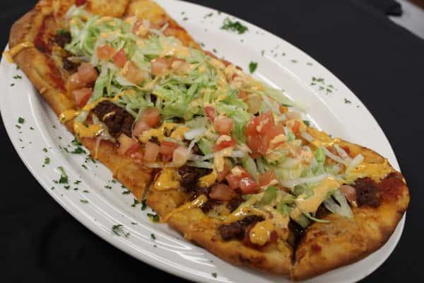 spicy taco pizza