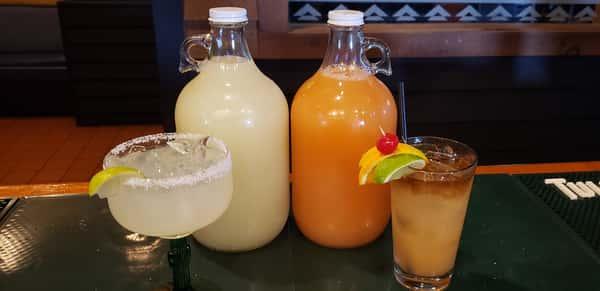 Half Gallons of Mai Tai's or Margarita's