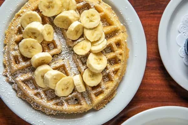 Banana Walnut Waffle