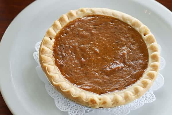Pumpkin Personal Pie