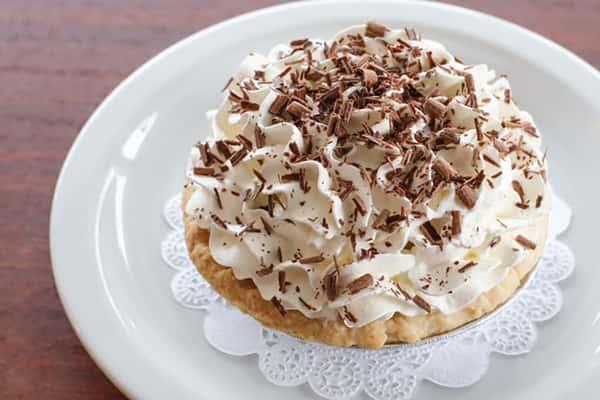 Chocolate Cream Personal Pie