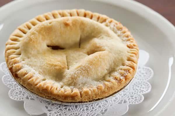 Peach Personal Pie