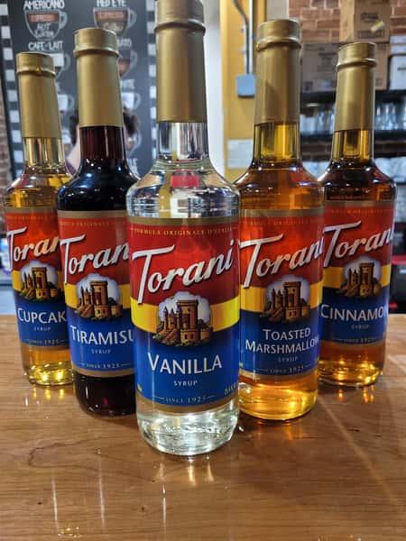 Torani Syrup Bottles