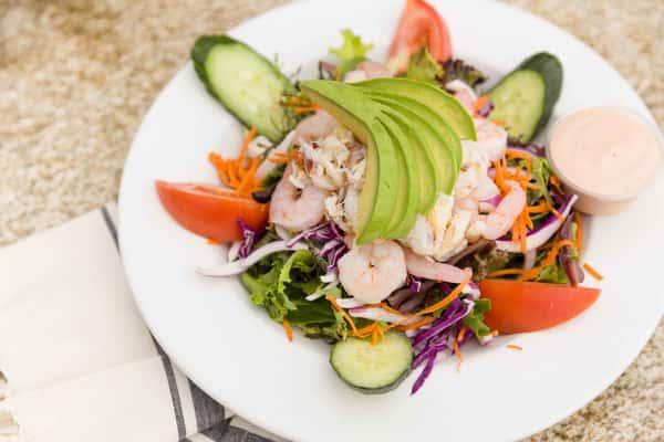 Crab & Shrimp Louis Salad