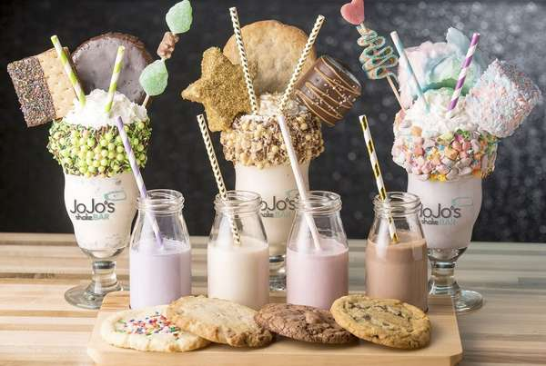 shakes and cookies