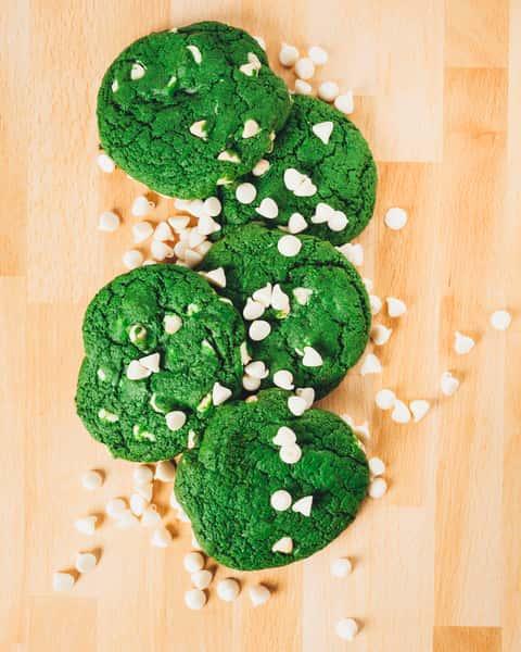 Green Velvet White Chocolate Chip