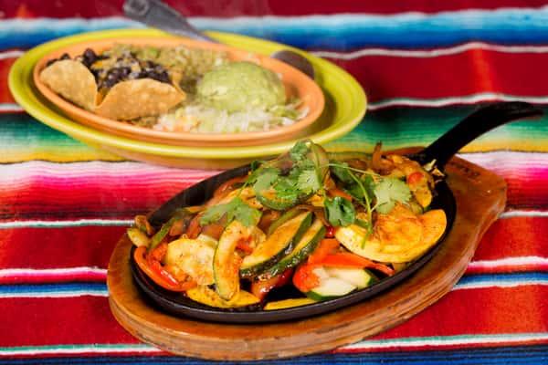 Vegetarian Fiesta Fajitas