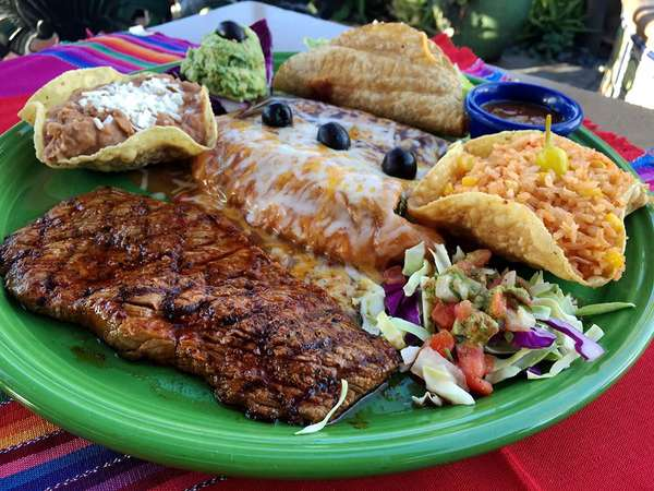 chef's sampling of mexican favorites