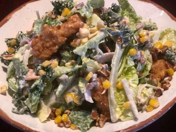 Southern Fried Chicken Salad