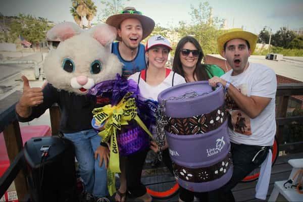 keg and bunny