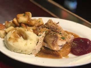Thursday - Home-Style Turkey Plate