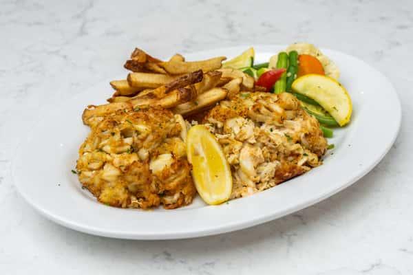 Crab Cake Dinner