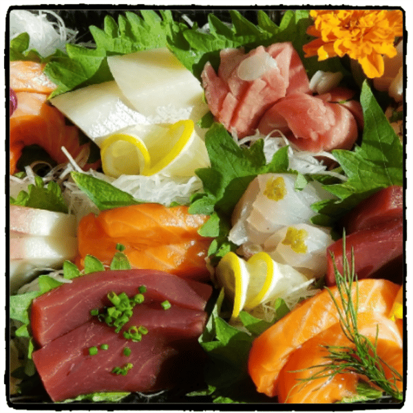 20 piece sashimi