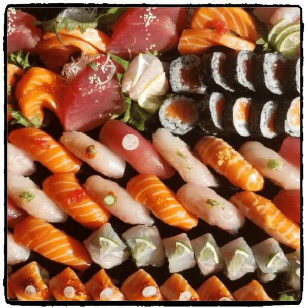 Sushi for four