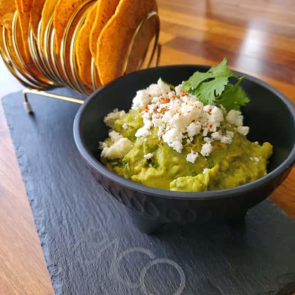 Guacamole and Tostadas
