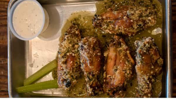 Parmesan Basil Wings