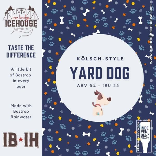 1. Yard Dog™ Kölsch 5.0%   23 IBU
