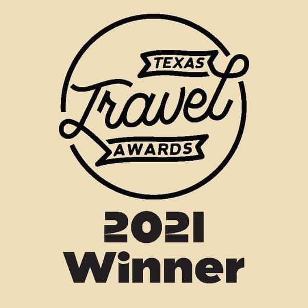 Logo Texas Travel Awards 2021 Winner