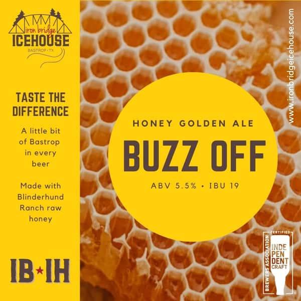 8. Buzz Off™ Golden Ale 5.5% | 19 IBU