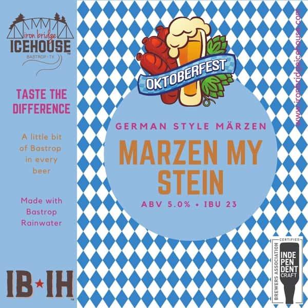 11. Marzen My Stein™ 6.0%   23 IBU
