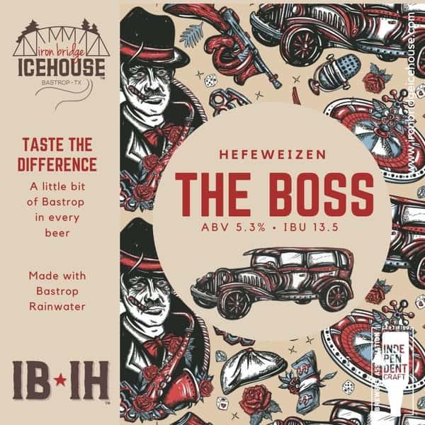 4. The Boss™ Hefeweizen 5.3%   13.5 IBU
