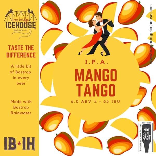 10. Mango Tango™ IPA 6.0%   65 IBU