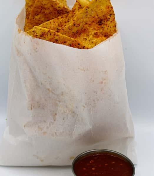 Chips & Salsa Roja
