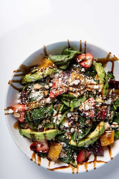 beat and goat cheese salad