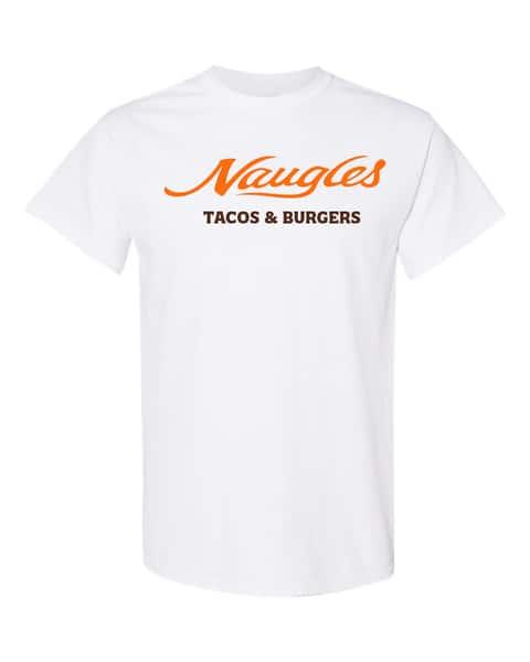 white logo classic shirt