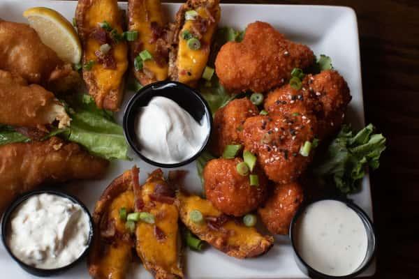 trio appetizers