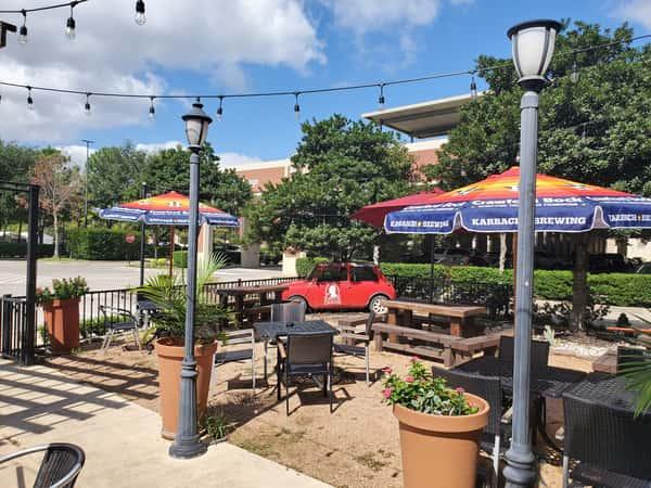 Katy, TX outdoor dining