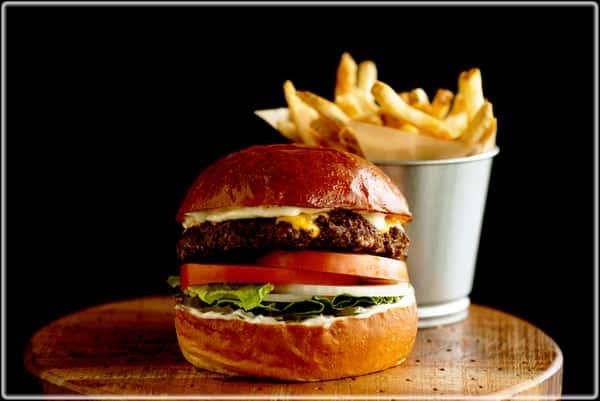 Cheese Burger Combo