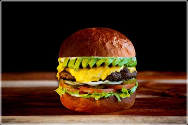 Avocado Cheese Burger