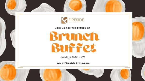 Sunday Brunch Buffet at Fireside Grille