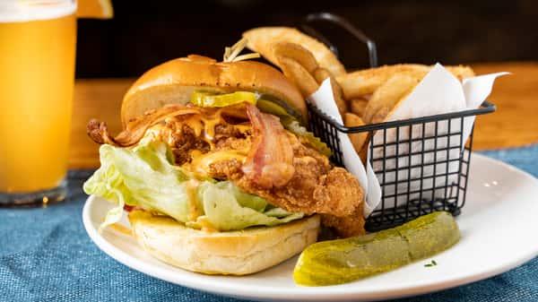 Bang Shrimp Burger
