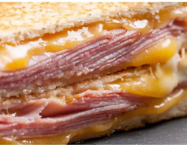 Hot Ham and Cheese Panini