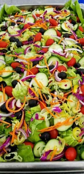 Tossed Bibb Salad