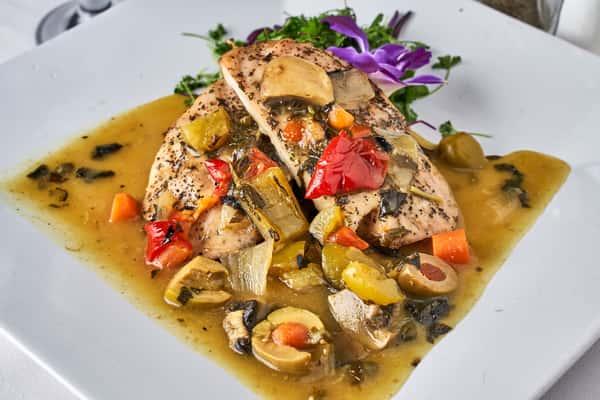 Mediterranean Chicken Breast