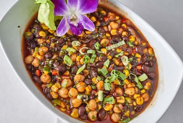 southwestern style bean salad