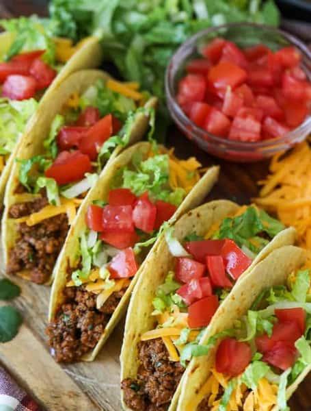 Tacos and Enchiladas