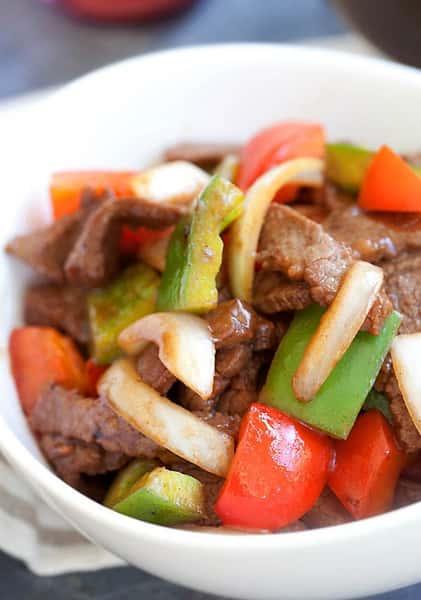 Cantonese Pepper Steak