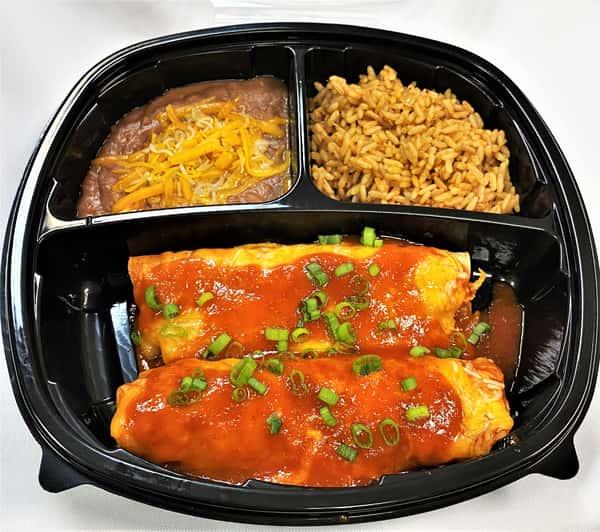 Shredded Beef or Chicken Enchilada
