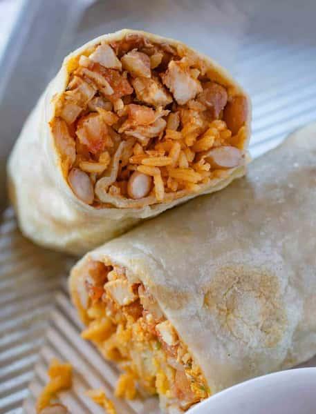 Arizona Chicken Burrito