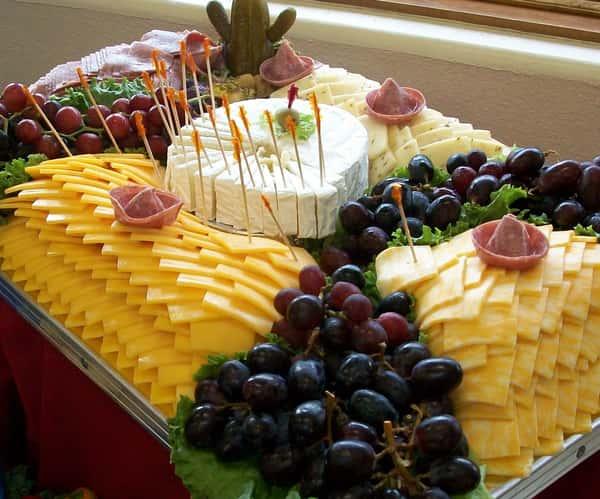 cheese & salami tray