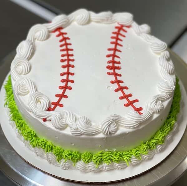 Father's Day Baseball Cake